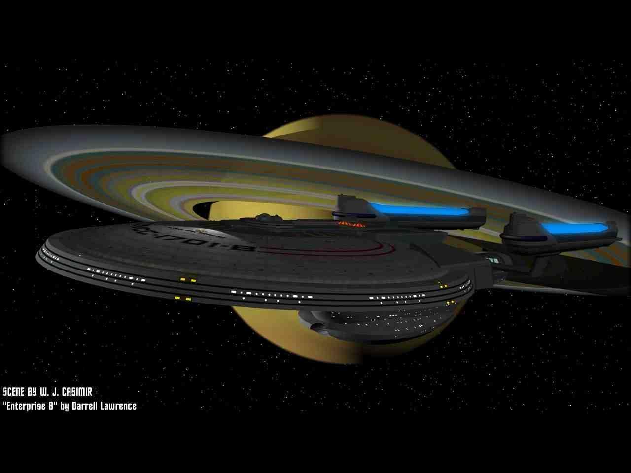 U S S Enterprise Ncc 1701 B With Images Star Trek Wallpaper