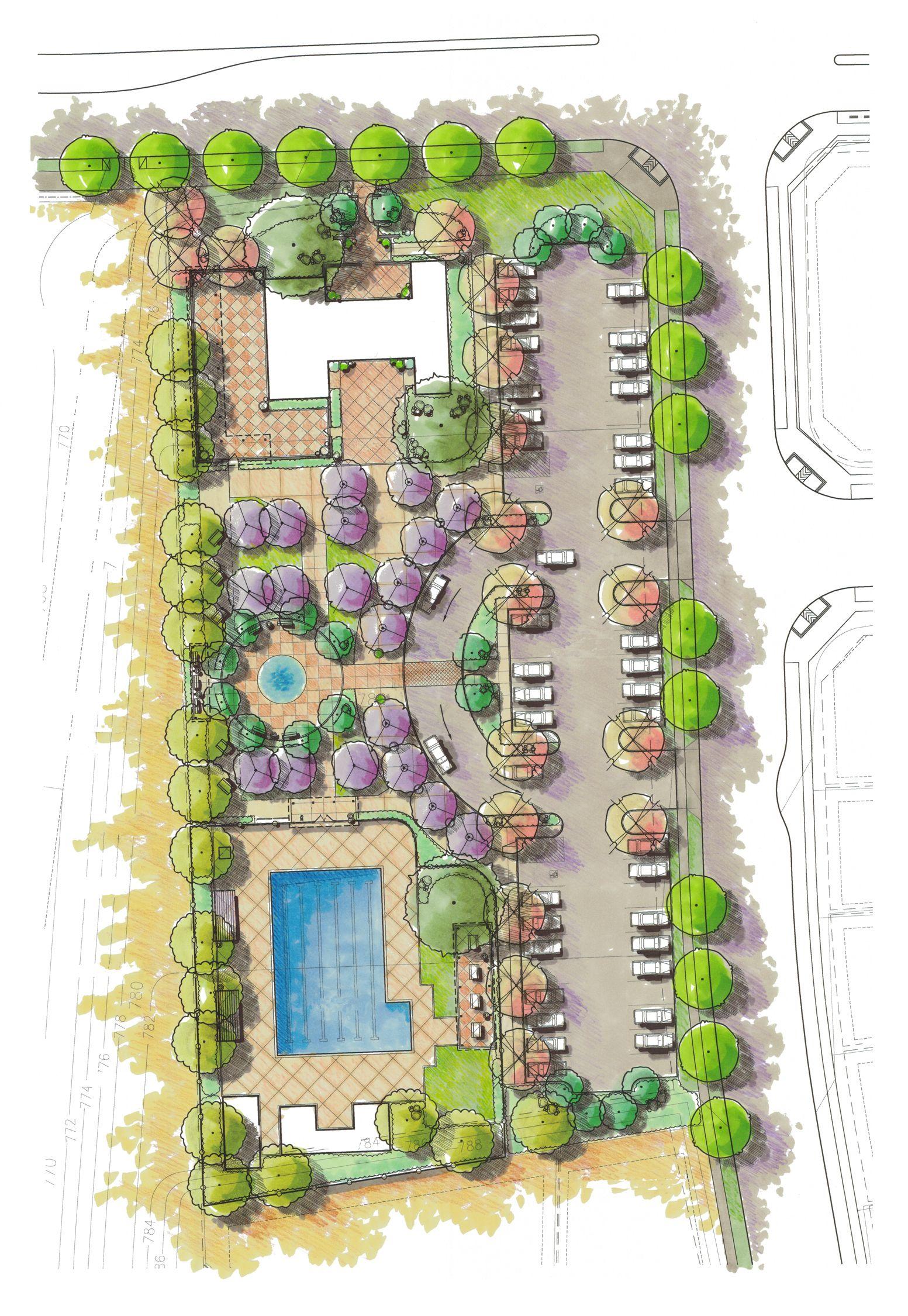 Concept For Alamo Creek Aquatic Center Arquitetura Paisagista