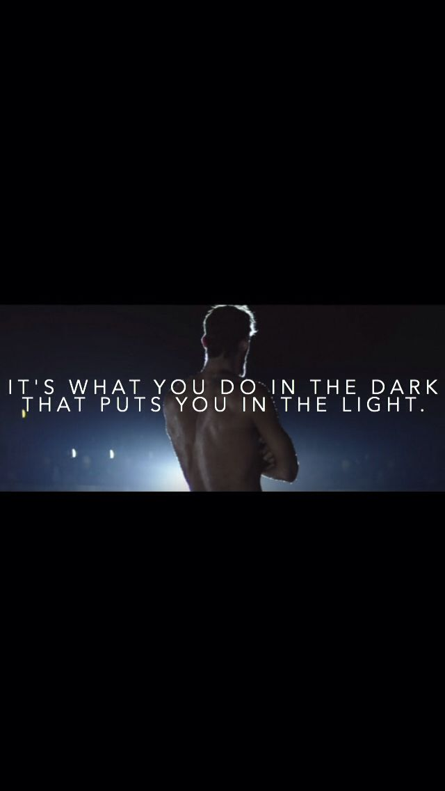 Its What You Do In The Dark That Puts You In The Light Phelps