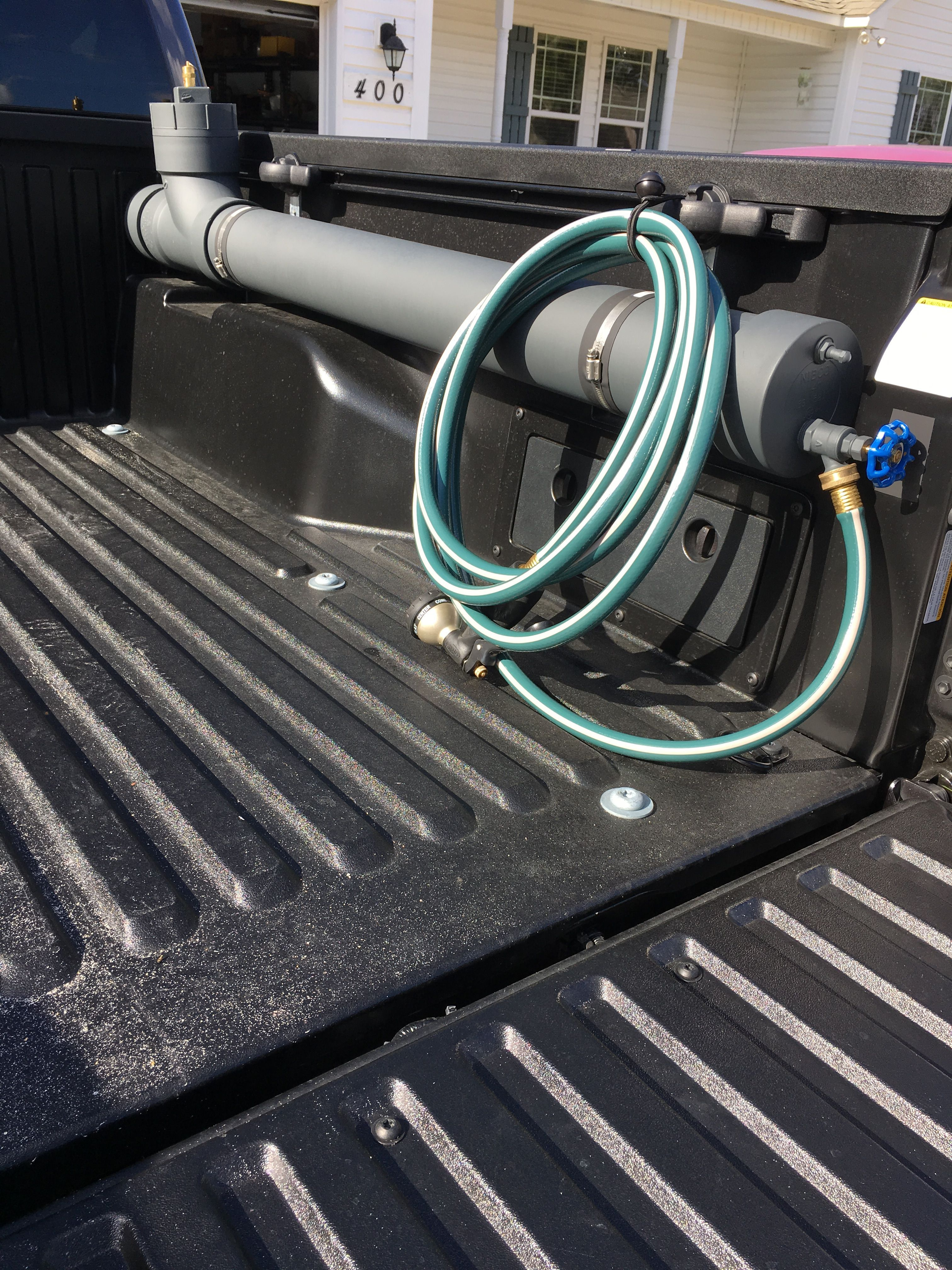 Truck bed water tank in 2020 Truck bed, Truck bed