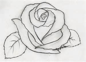 Easy Pencil Drawings For Beginners Flower Sketches Pencil Drawings Easy Flower Drawing