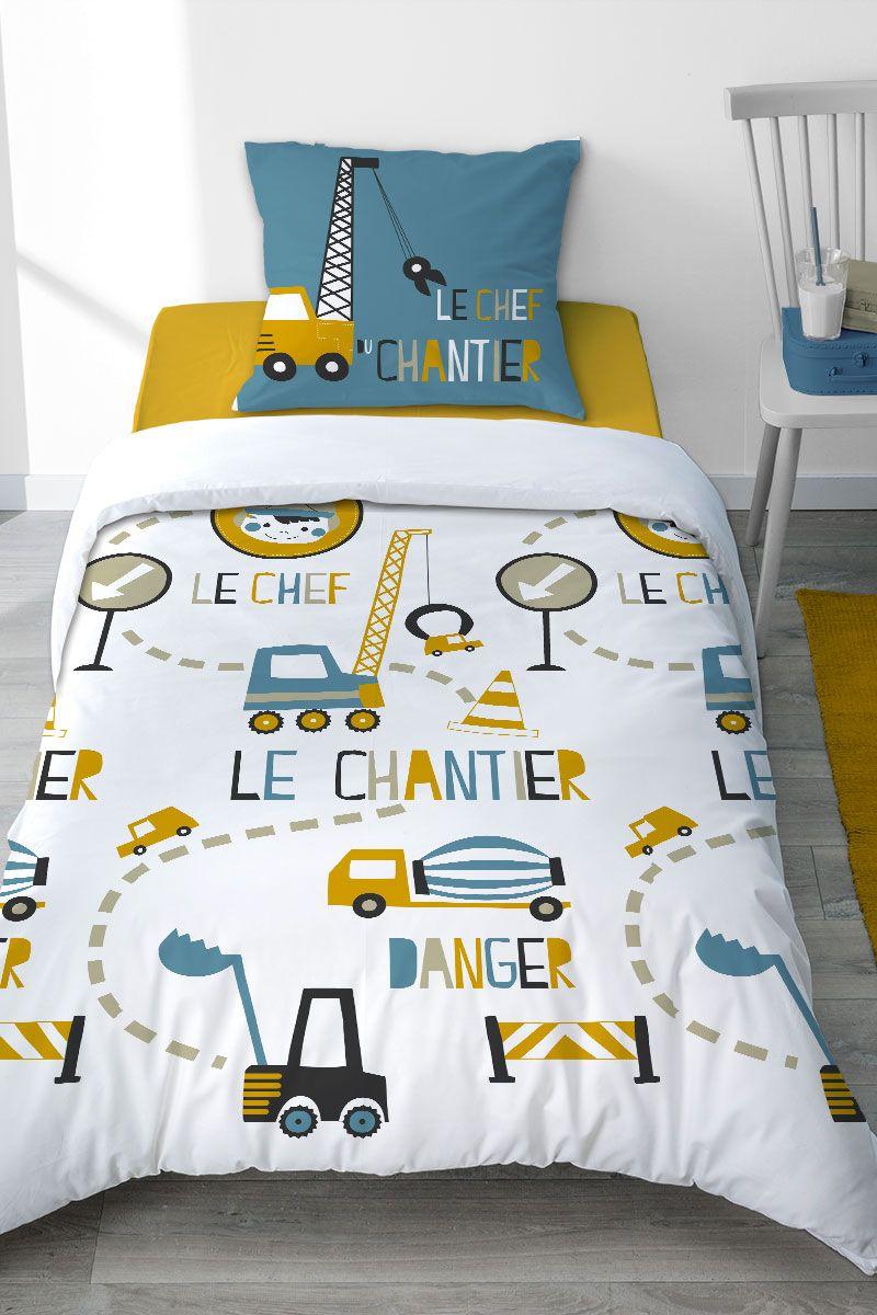 Quoi de mieux pour un petit garçon que de dormir dans une housse de ...