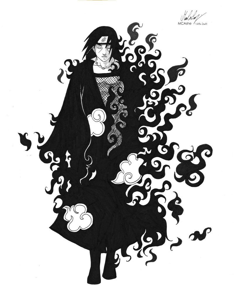 Uchiha Itachi Fanart By Mcashe On Deviantart With Images