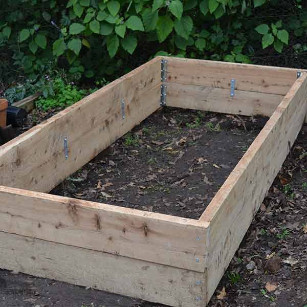 Raised Garden Bed Construction: Build Your Own Raised Garden Bed Using Cypress Pine