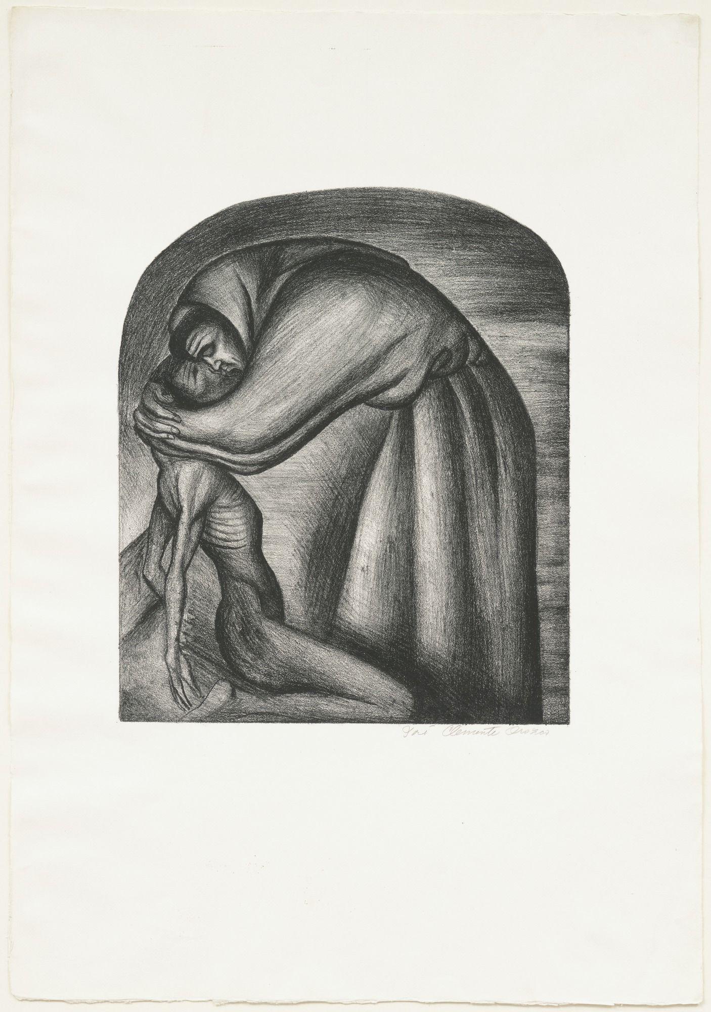 José Clemente Orozco. The Franciscan (El Franciscano). 1929   MoMA