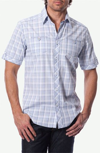 7 Diamonds 'Sail Away' Woven Sport Shirt available at Nordstrom