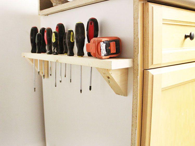 Diy Tool Storage Organization Rangement Organisation De