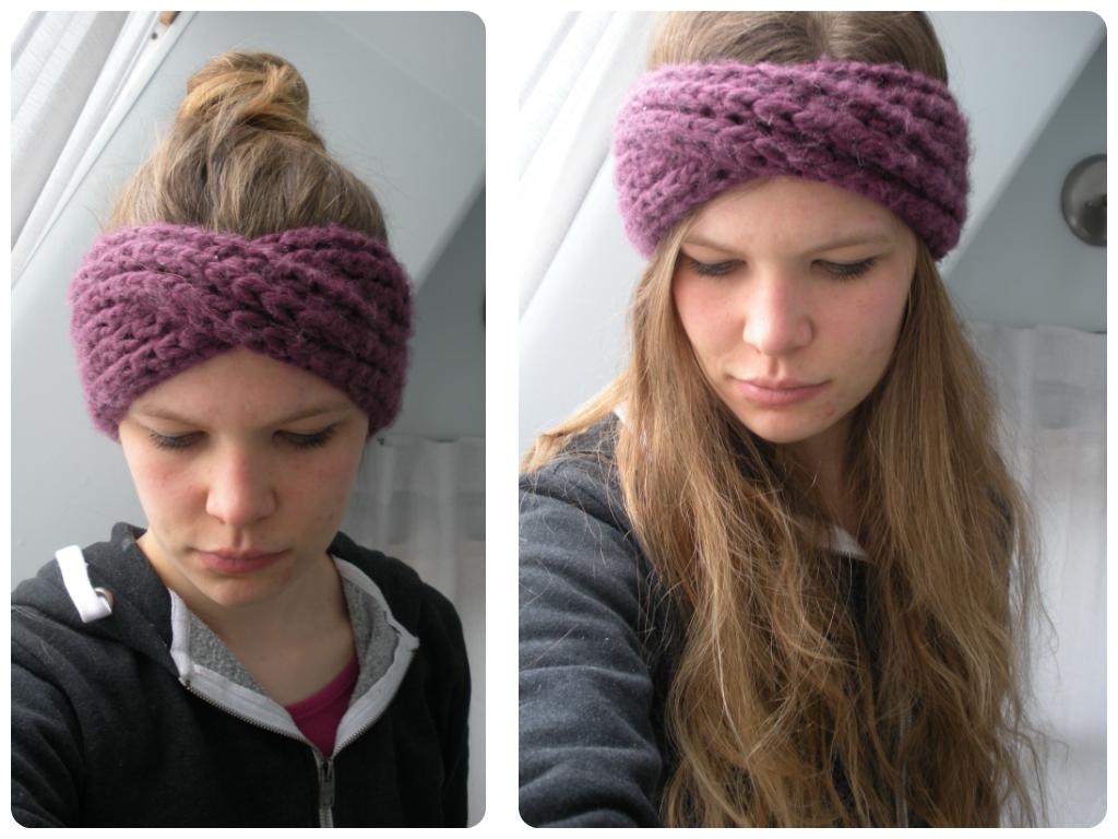 Free Pattern: Knit Turban Headband | Turban headbands, Free pattern ...