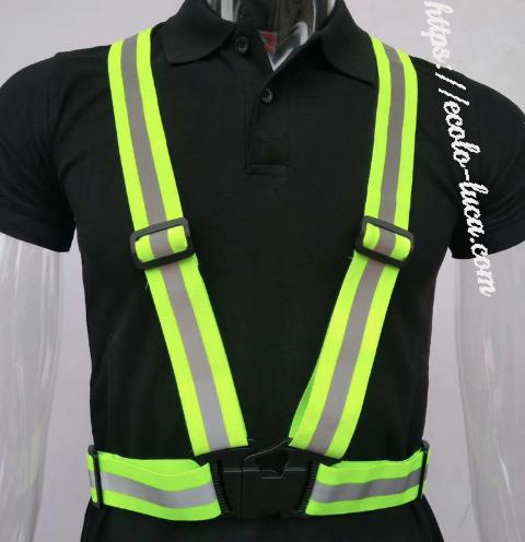 Safety Reflective Strap Vest (With images) Vest, Utility