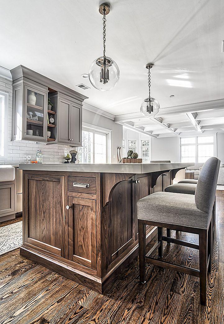 Cocinagris ruedigerbenedikt para los muebles de la isla for Muebles encantadores del pais elegante