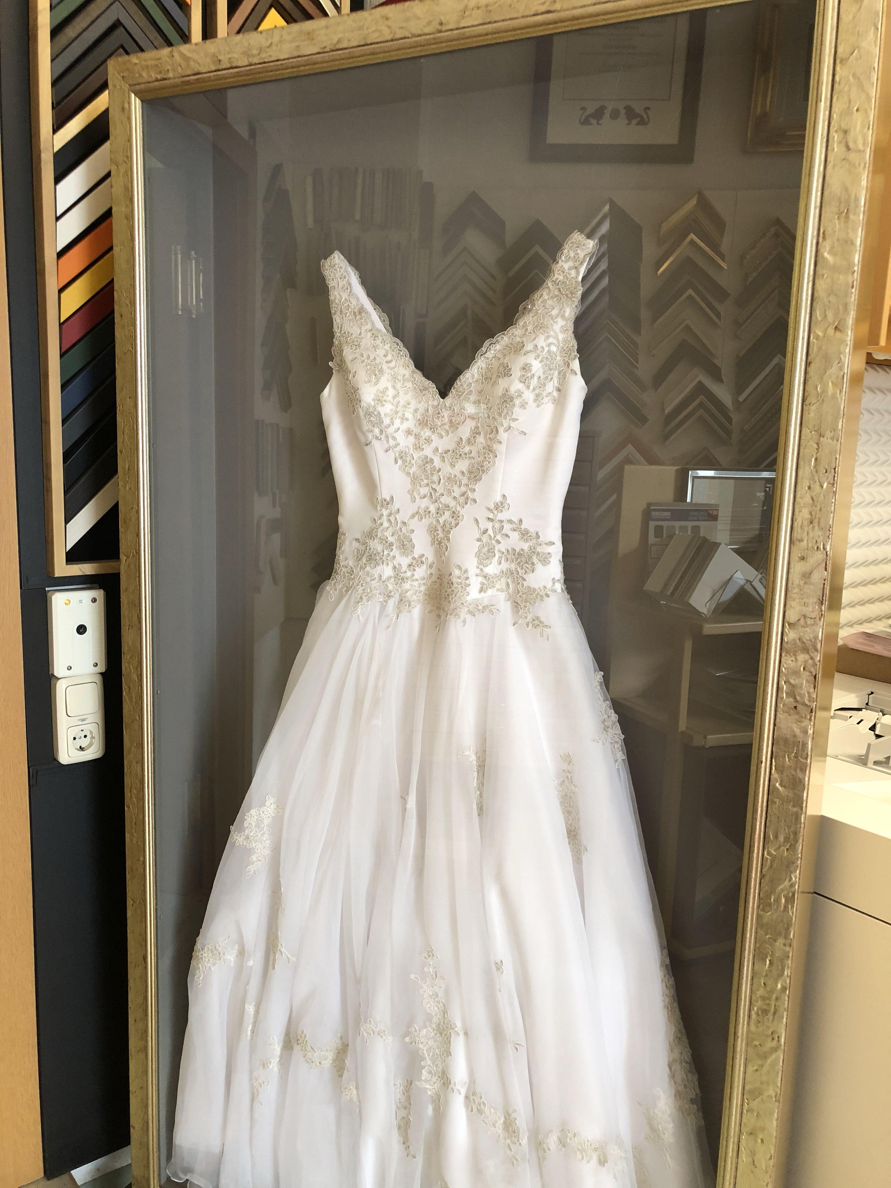 Bilderrahmen Brautkleid - Diedroege
