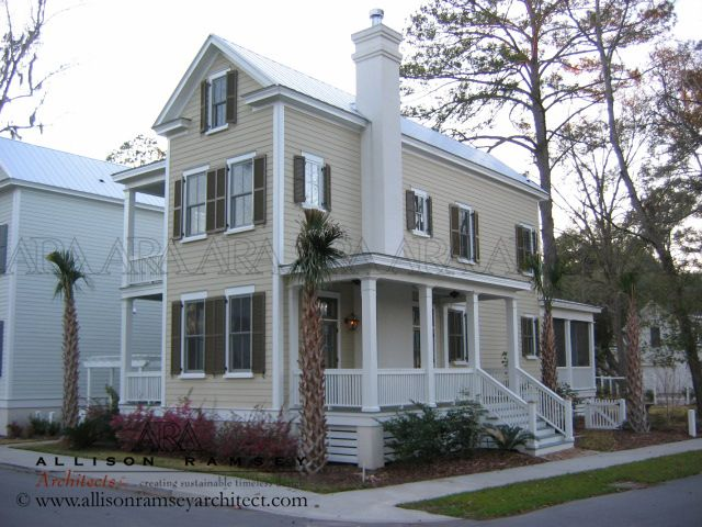 The jasper plan by allison ramsey architects built at for Beaufort sc architects