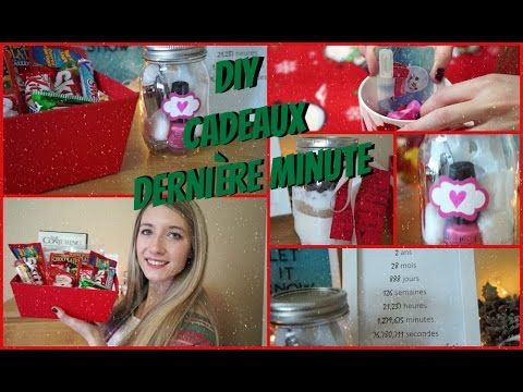 Souvent 5 cadeaux DERNIÈRE MINUTE DIY | Copain, Amie, Famille, etc | cdx  RU17