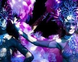 Cabaret Brasil Tropical Paris.  Zazà Fernandez Choregraphe.