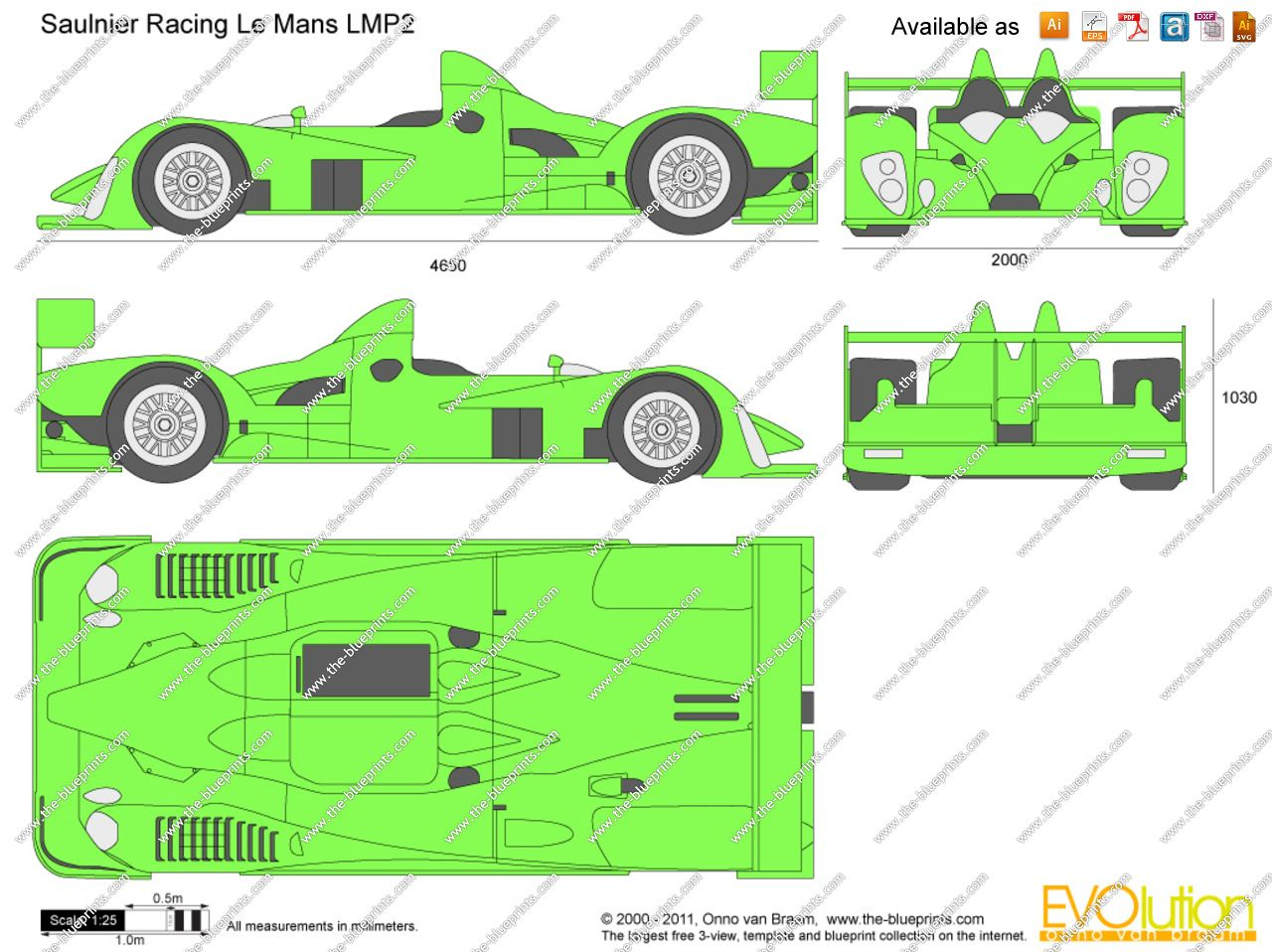 Saulnier racing le mans lmp2 racing car blueprint pinterest saulnier racing le mans lmp2 malvernweather Choice Image