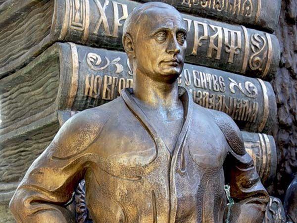 Картинки по запросу памятник путину