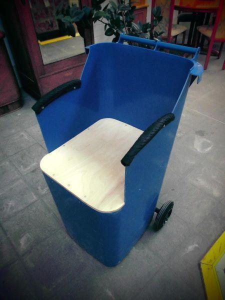 Gartenstuhl Mulltonnenstuhl Gartenstuhle Stuhle Upcycling