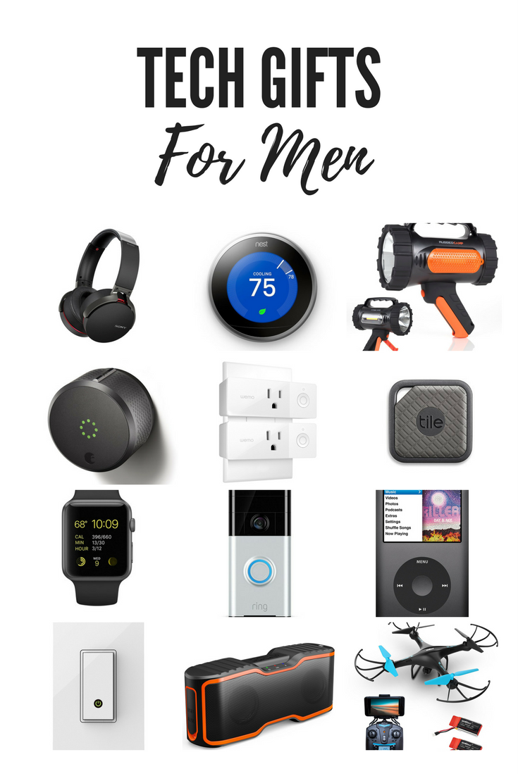 Gifts for Him Tech gifts for men, Cool tech gifts