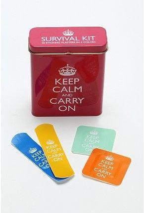 Keep calm Band-aids