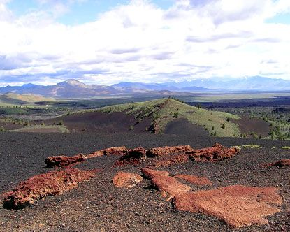 Craters of the Moon National Monument, Idaho | Hiking Trails ... on nez perce national forest map, idaho national parks map, national park highway map,