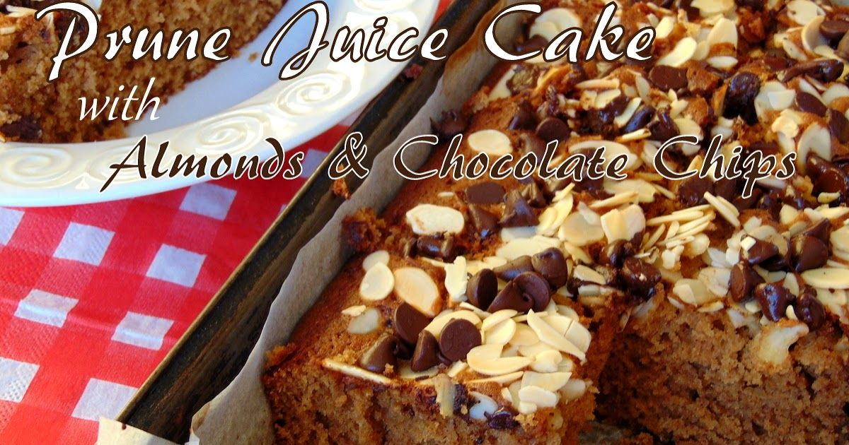 prune cake recipe using baby food
