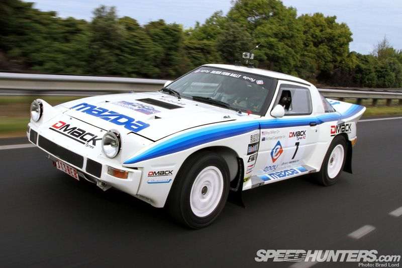 1980 road rally at its best for Mazda