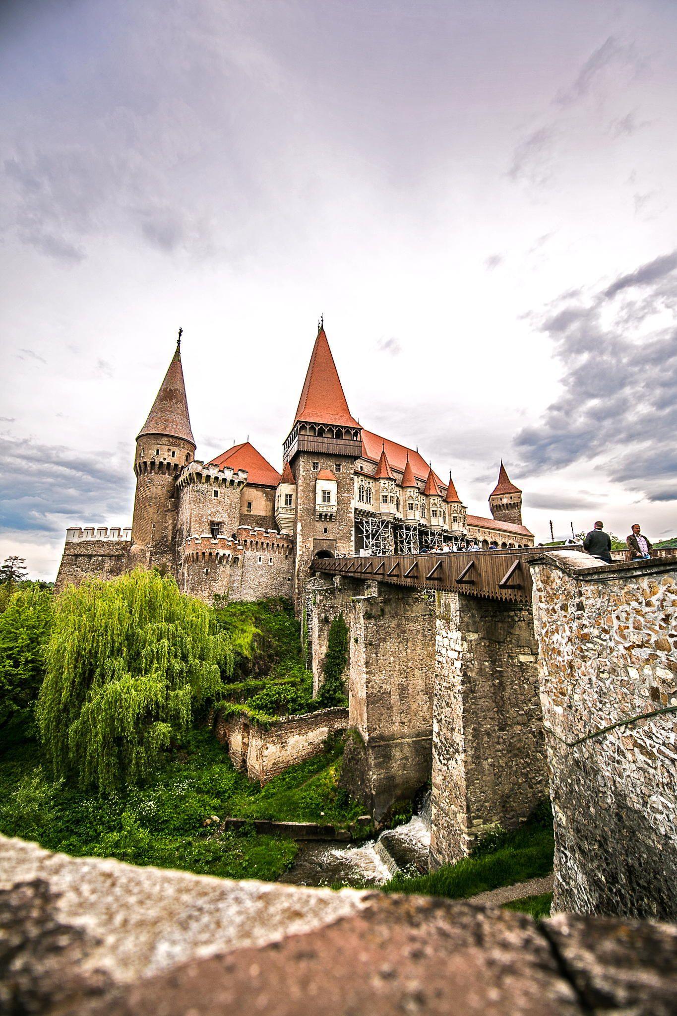 Hunedoara Romania Chateau Medieval Medieval Castle Gothic Castle Castillo