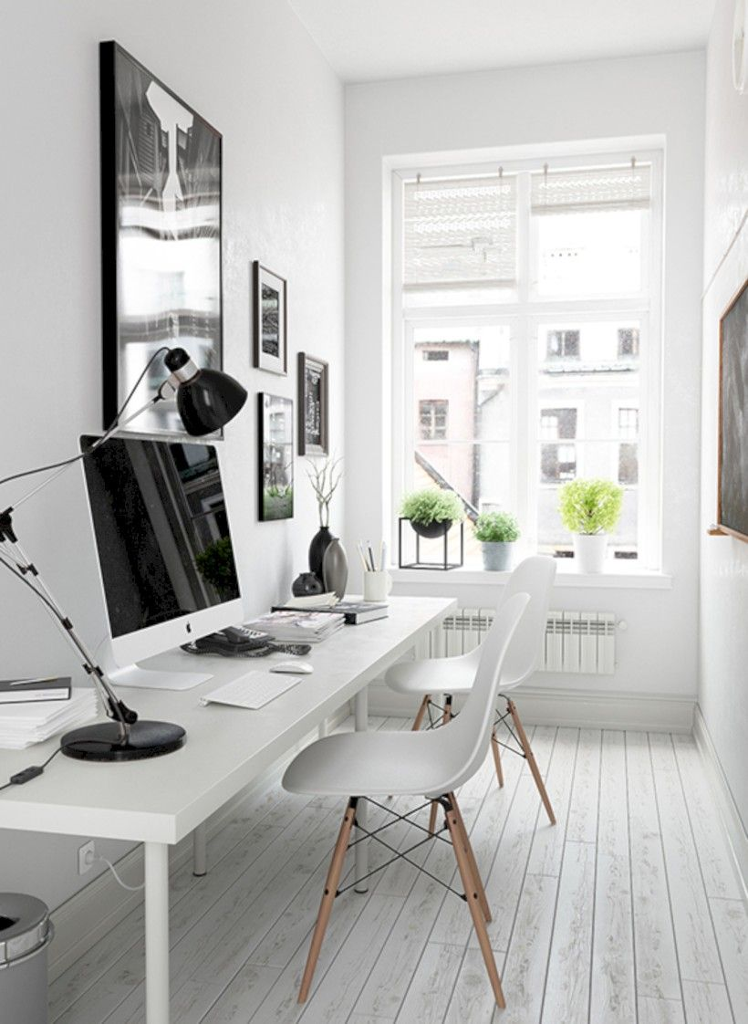 65+ Cool Creative Small Home Office Ideas | Pinterest ...