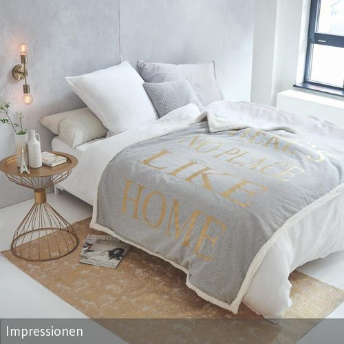 Bettwäsche mit Statement Bedrooms