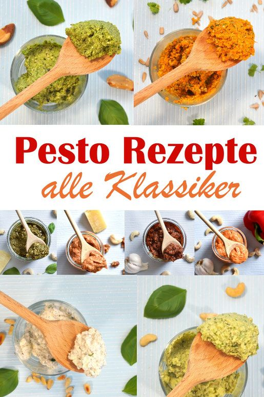 Photo of Pesto Rezepte. Alle Klassiker.