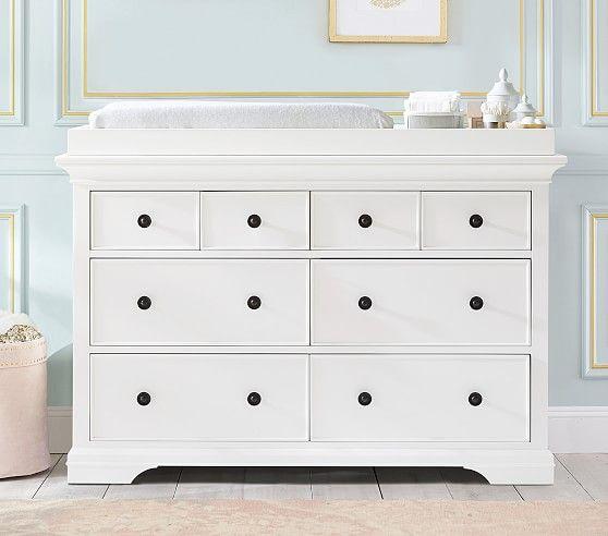 Larkin Extra Wide Dresser Amp Topper Set Extra Wide