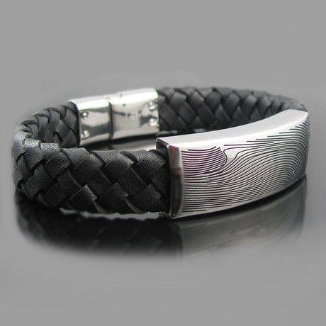 Damascus Design Bracelet