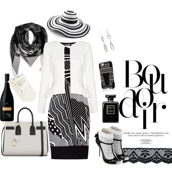 """""""Black and white"""" by chrystymoore on Polyvore"""