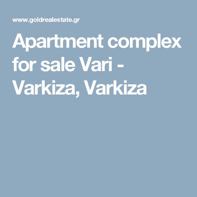 Apartment Complex For Sale Vari
