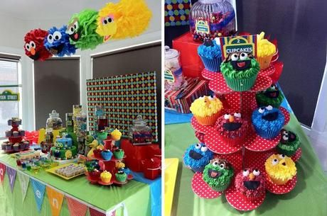 Sesame Street Themed party by Wrapped in a Box