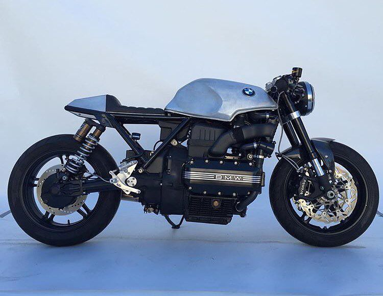 Congrats To At Mikefloresdp Whose Bmw K100 Caferacer Scored An