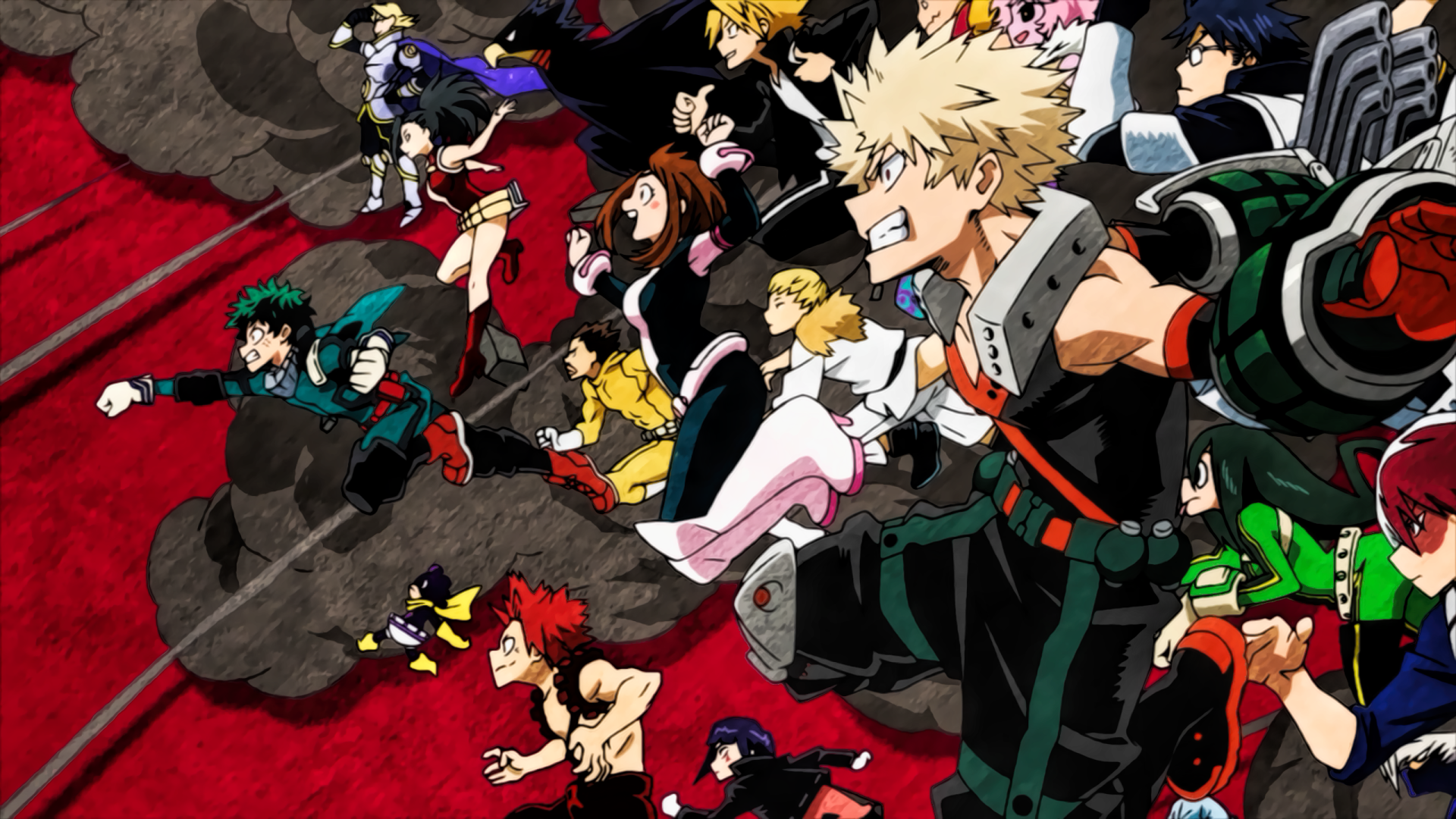 My Hero Academia Season 2 Opening Picture Hero Wallpaper My Hero Academia Anime Characters