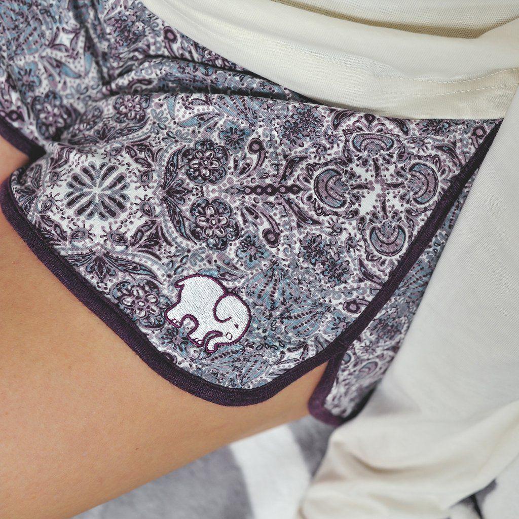 50091fe3f Rosemale Printed Sleep Shorts