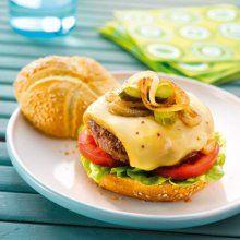 Hamburger des alpages au fromage à Raclette RichesMonts