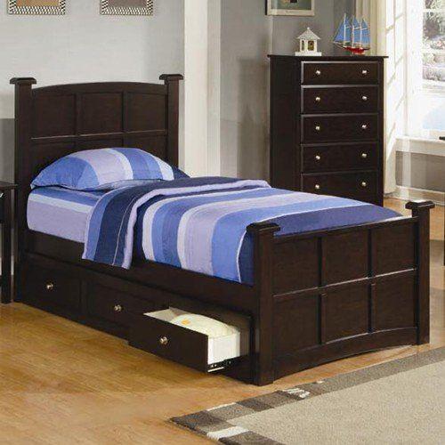 Platform Bed in 2018 kid bedroom Pinterest Coaster furniture