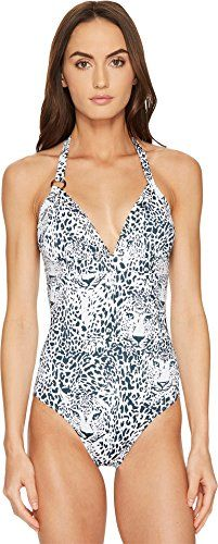 f63dc14094c7b Vilebrequin Women s Snow Tiger Feeric One-Piece White Swimsuit ...
