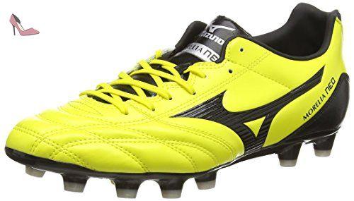 Mizuno Morelia Neo Ut MD, Chaussures de Rugby Homme - Jaune (Bolt/Black) - Taille : 42 EU