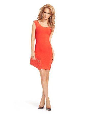 GUESS by Marciano Women's Carole Bandage Zip Dress