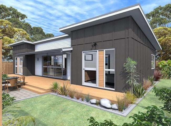 Titoki House Plan Modern House Siding House Exterior Modern House Exterior