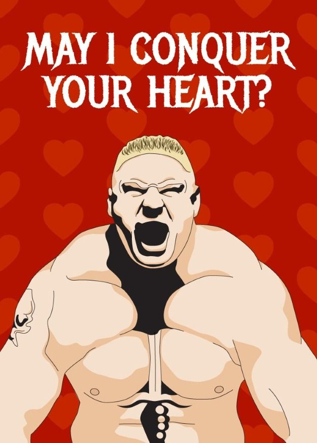 Wrestling For Your Heart 15 Printable Wwe Valentines Day Cards