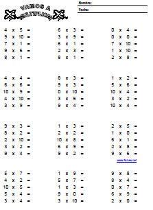 Te Cuento Un Cuento Tablas De Multiplicar Para Imprimir Sin Resultad Tabla De Multiplicar Para Imprimir Tablas De Multiplicar Ejercicios Tablas De Multiplicar