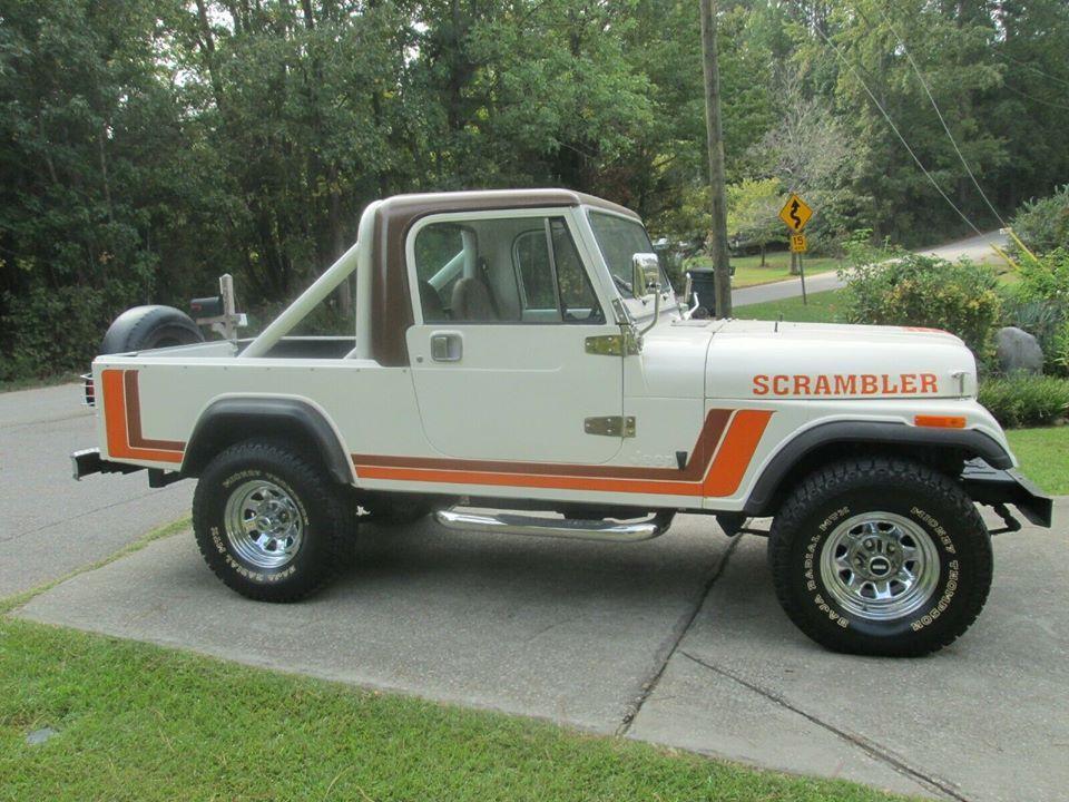 1983 Jeep Cj 8 Scrambler Jeep Cj Scrambler For Sale Jeep Scrambler For Sale