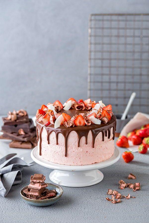 Drip Cake: So gelingt die perfekte Ganache #schnelletortenrezepte