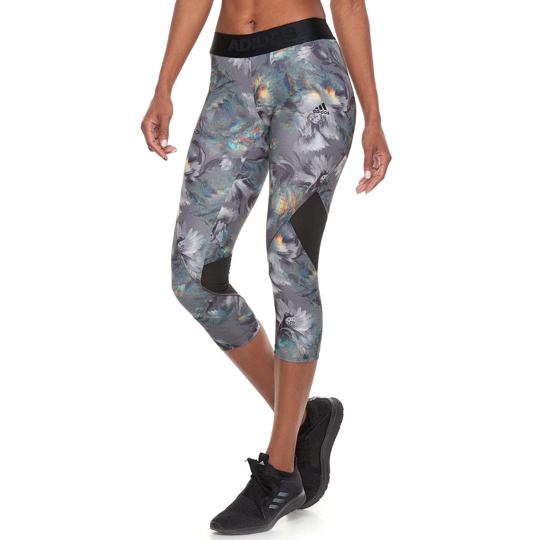 9ddf0f51a1da5 Women's adidas Alphaskin Sport Capri Leggings   Fashion Street ...