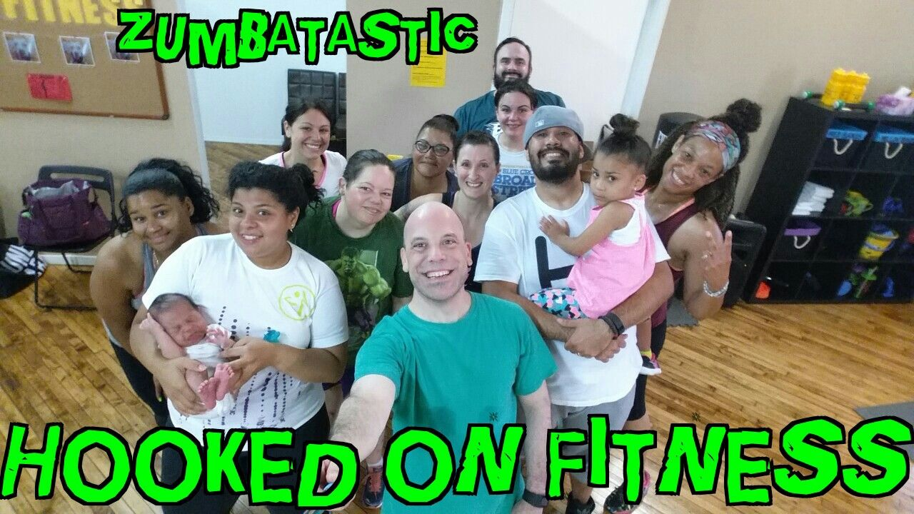 New faces... New smiles... New attitudes... Check out what #Zumba IA all about at the #HookedOnFitness Studio! Wednesday nights at 7pm and Saturday mornings at 9am each and every week. What did we do after getting voted at the Best Group Fitness Studio in #Philly? We made it better! For more information and the full class schedule please visit www.hookedonfitness.net or www.facebook.com/hookedonfitness  #GroupFitness #PhillyPersonalTrainer #FitFam #BestInPhilly #BestInPhillyJustGotBetter